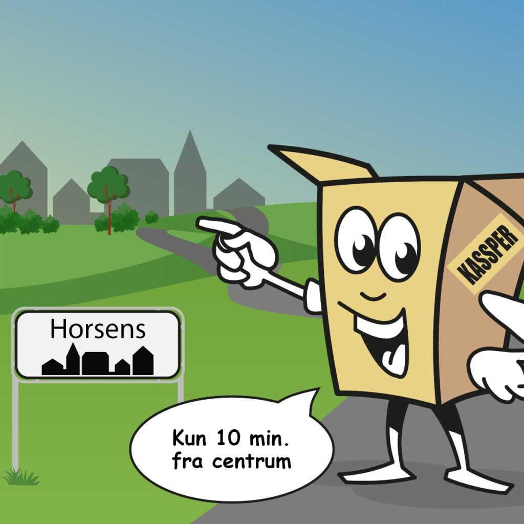 Boxdepotet Horsens lokation