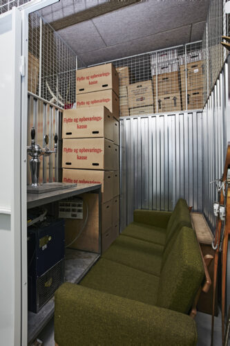 Så meget (og meget mere) kan der være i et depotrum på 12 m3
